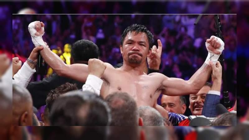 A sus 40 años, Manny Pacquiao se convierte nuevamente en campeón del mundo