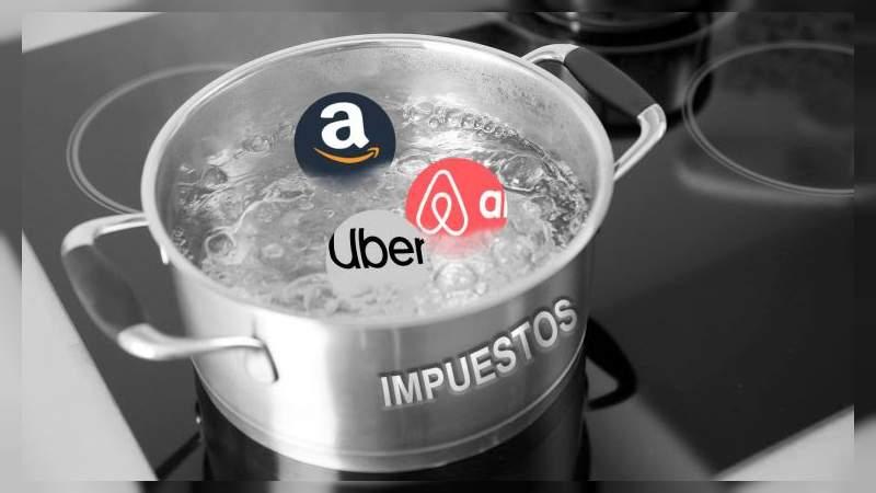 Diputados impondrían impuestos a las compras en Uber, Amazon y Airbnb
