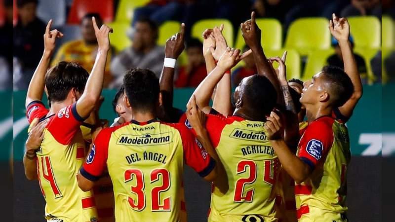 Monarcas Morelia debutó con victoria dentro de la Copa MX