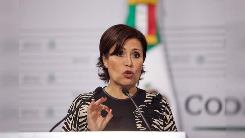 Niegan suspensión a Rosario Robles contra una posible orden de aprehensión
