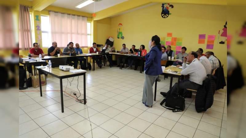 Supervisores de Telesecundaria se preparan para inicio del ciclo escolar 2019-2020