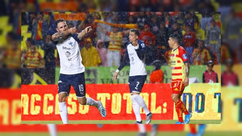 De último minuto, Monarcas Morelia perdió ante Monterrey