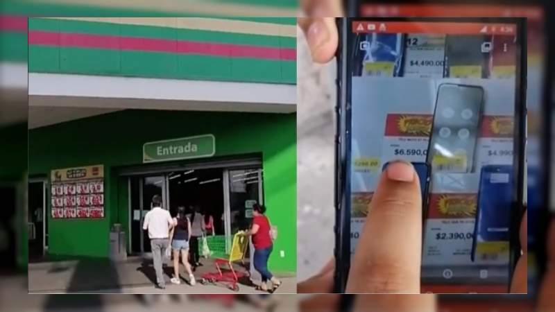 Por error, Bodega Aurrerá ofrece celulares en $7 pesos