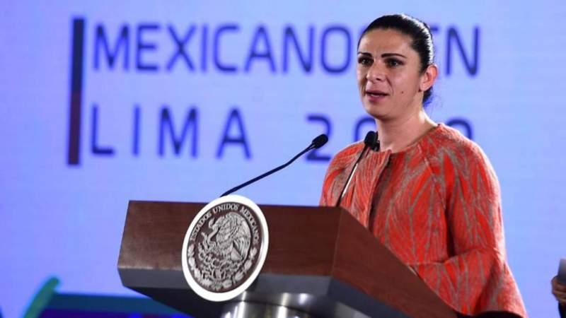 He tenido que acabar con el huachicoleo deportivo: Ana Guevara