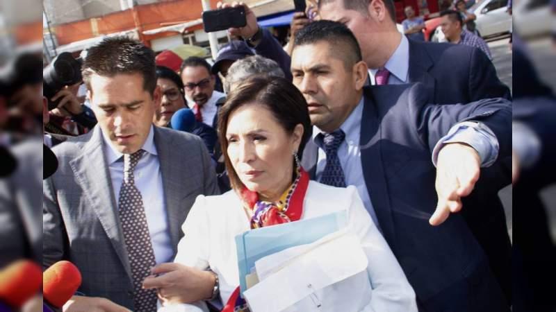 Dictan prisión preventiva contra Rosario Robles