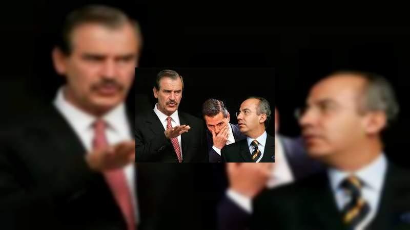 Proveedores corruptos de Fox, Calderón y EPN adeudan 2 mil 300 millones de pesos