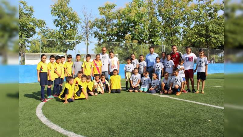 Impulsa diputado Francisco Cedillo deporte en Michoacán