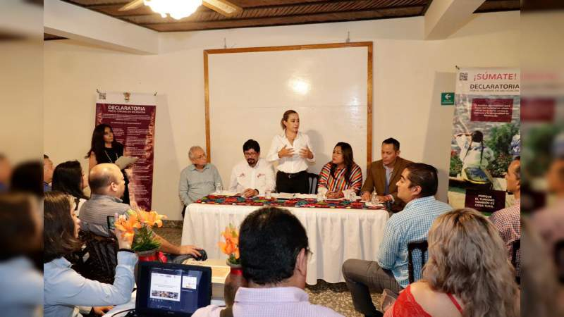 Sectur Michoacán lleva programa de Financiamiento a Empresas Turísticas en la Región de Uruapan