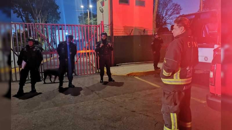 Se registra incendio en el Reclusorio Oriente, hay siete lesionados