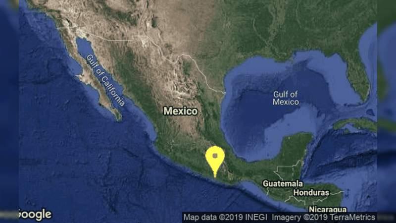 Sismo de 4.7 sacude a Ometepec, Guerrero