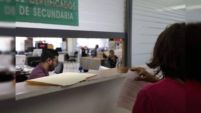 Habilita SEE página web para agilizar trámites de control escolar en Michoacán