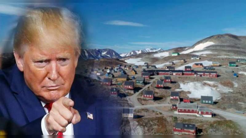 Donald Trump quiere comprar Groenlandia