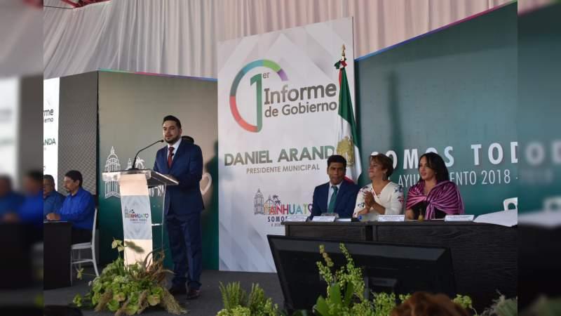 Gobierno de Michoacán ratifica compromiso de trabajo con municipios