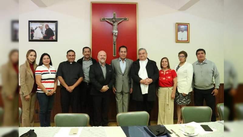 Conjuntan voluntades Gobierno y organizaciones religiosas para la construcción de la paz