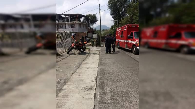 Atacan a balazos a matrimonio, la mujer murió en Uruapan, Michoacán