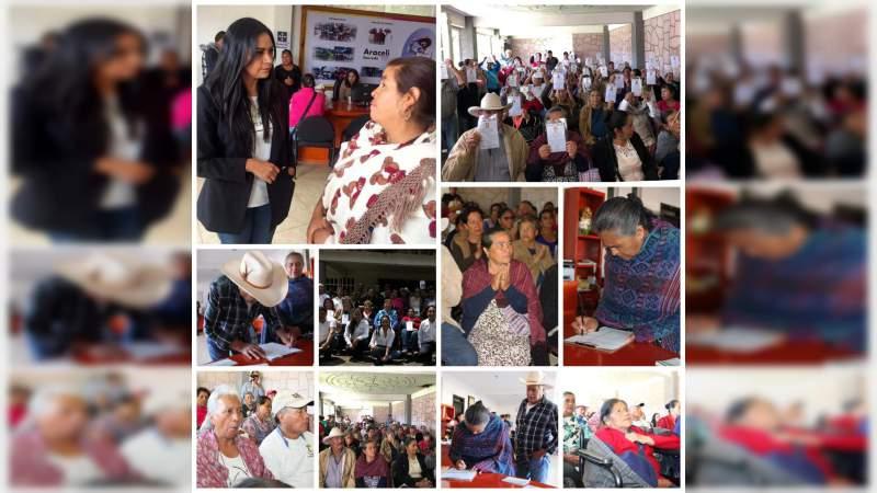 51 adultos mayores viajarán a reencontrarse con sus seres queridos: Araceli Saucedo