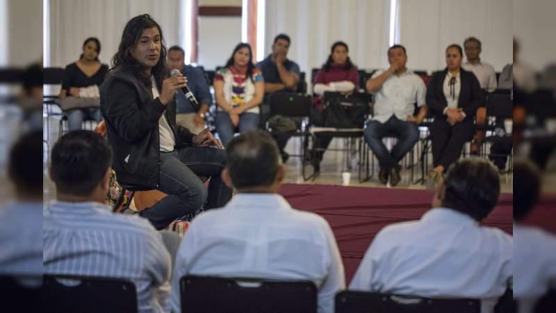 Autoridades de izquierda se reúnen en Morelia