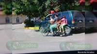 "Inicia fase para aplicación de sanciones de operativo ""Motociclista Responsable"" en Apatzingán"