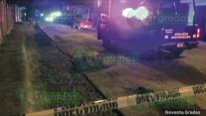 Un muerto y un herido tras balacera en la colonia Los Ángeles en Uruapan, Michoacán