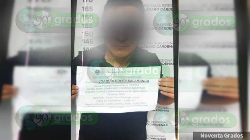 Detienen a líder de grupo criminal en Lázaro Cárdenas, Michoacán