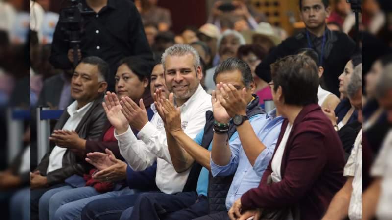 Labor de diputados federales de Morena, indispensable para transformar al país: Alfredo Ramírez