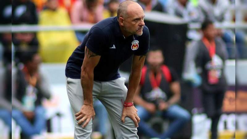 Javier Torrente ha dejado de ser el entrenador de Monarcas Morelia