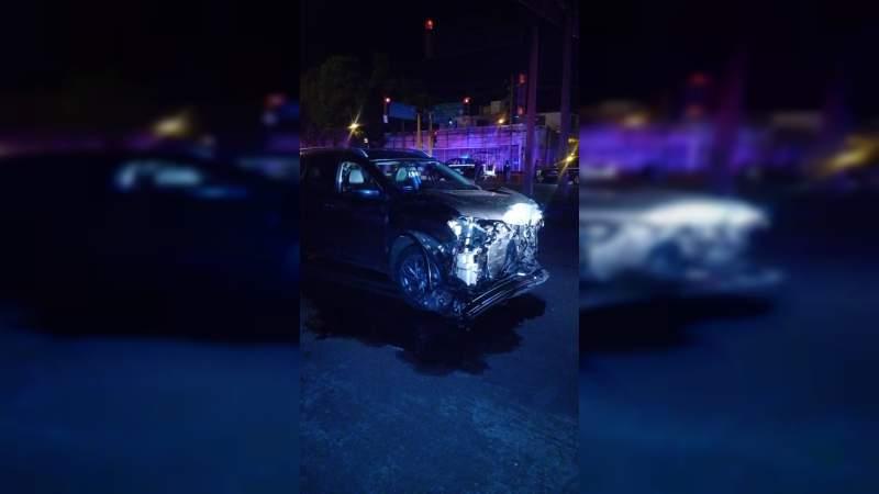 Muere Policía en accidente en Zamora, Michoacán