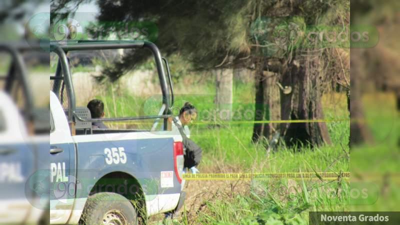Encuentran hombre decapitado en Zamora, Michoacán