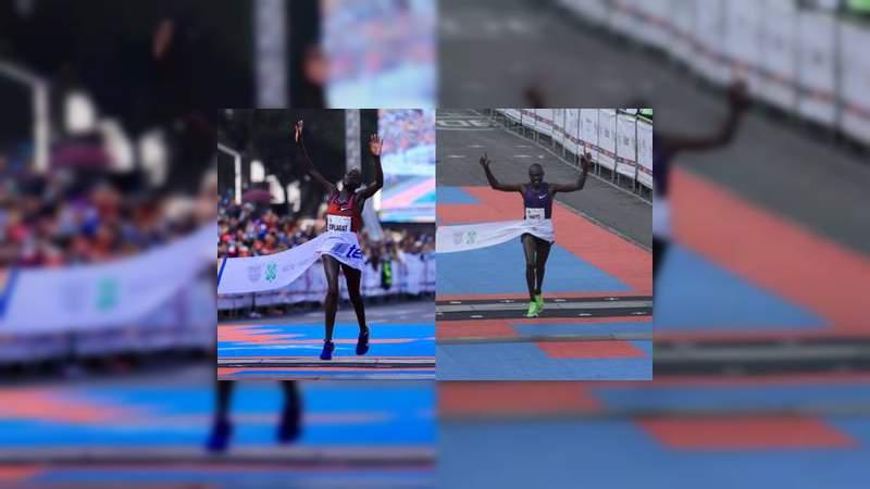 Ganadores de la Maratón de la Ciudad de México