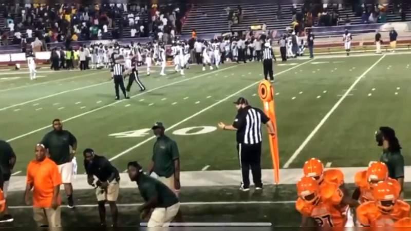 Tiroteo en partido de fútbol americano estudiantil deja 10 lesionados