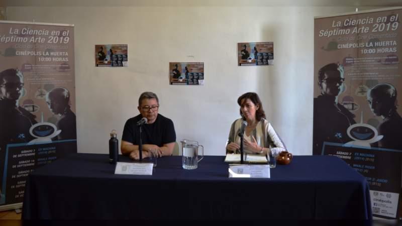 """UNAM Campus Morelia y la Universidad Michoacana anuncian el inicio del ciclo de cine comentado """"La Ciencia en el Séptimo Arte 2019"""""""