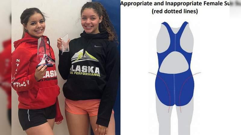 Descalifican a joven nadadora por tener el trasero muy grande
