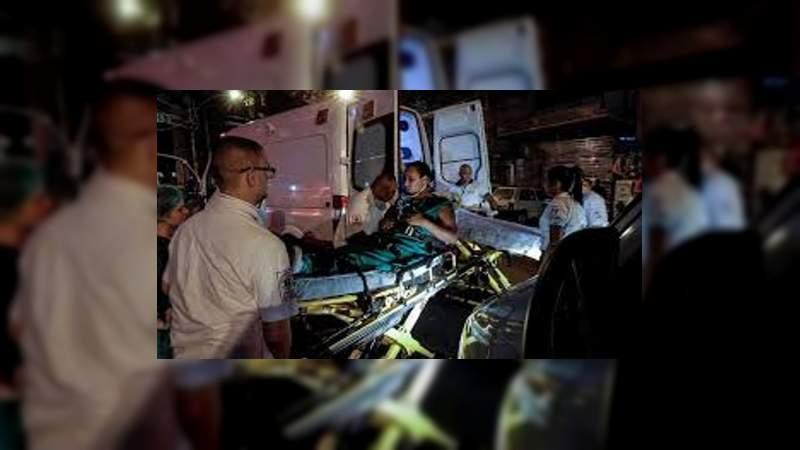 Hay 10 personas muertas tras incendio de Hospital en Río de Janeiro, Brasil