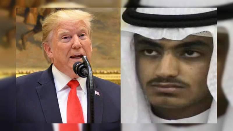 Estados Unidos mató al hijo de Bin Laden: Trump