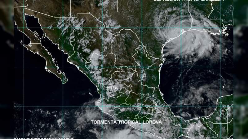 """En alerta PC estatal ante proximidad de la Tormenta Tropical """"Lorena"""""""