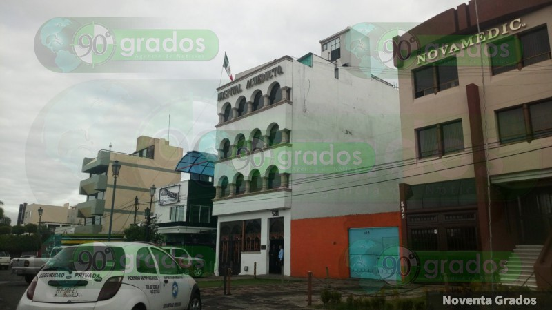 Comando armado ejecuta a paciente en hospital de Morelia