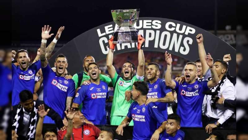 Cruz Azul vence a Tigres y es campeón de la Leagues Cup