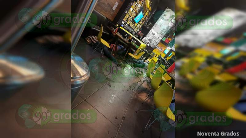 Uruapan: ataque armado a bar deja cuatro muertos y dos heridos, en Michoacán