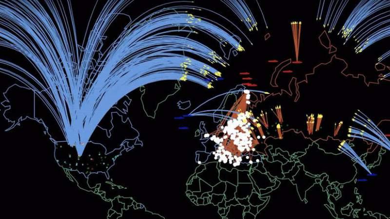 Guerra nuclear entre Estados Unidos y Rusia dejaría más de 91 millones de víctimas