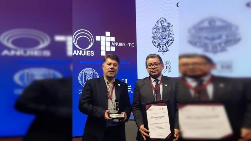 Premio ANUIES-TIC 2019, para la revista sabes más de la UMSNH