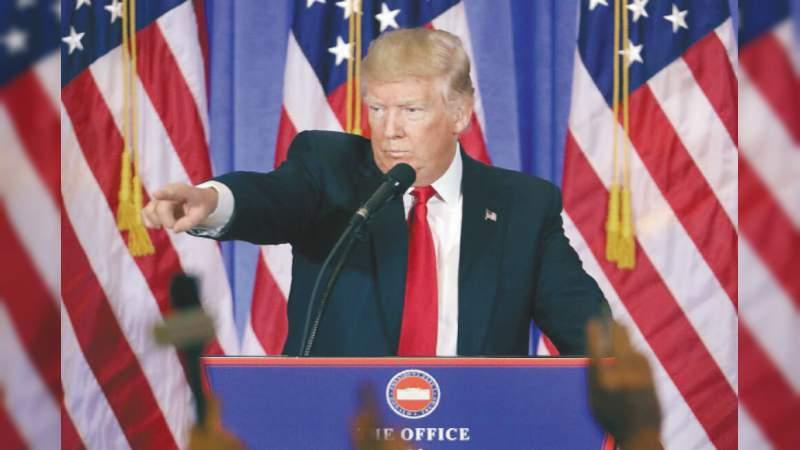 Tengo el derecho a combatir la corrupción: Trump