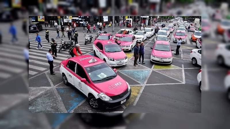 Taxistas paralizarán la Ciudad de México para protestar contra Uber