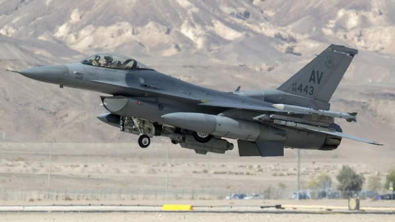 Un F-16 estadounidense se estrella en Alemania