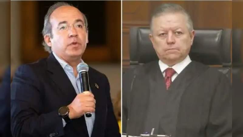 Presidente de la Suprema Corte fue amenazado por Felipe Calderón