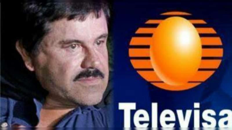 El Chapo utilizó camiones de Televisa para transportar droga