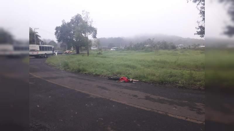 Asesinan a un individuo en Tocumbo, Michoacán