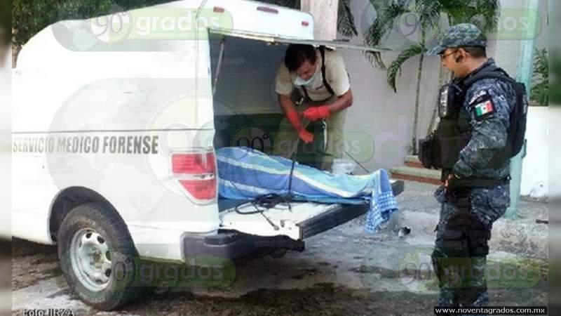 Localizan cuerpo putrefacto en Acapulco, Guerrero