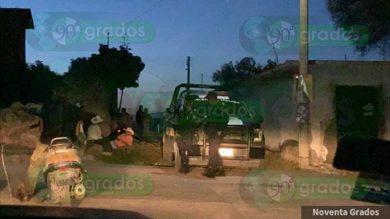 Ejecutan a presunto delegado de poblado en Acámbaro, Guanajuato