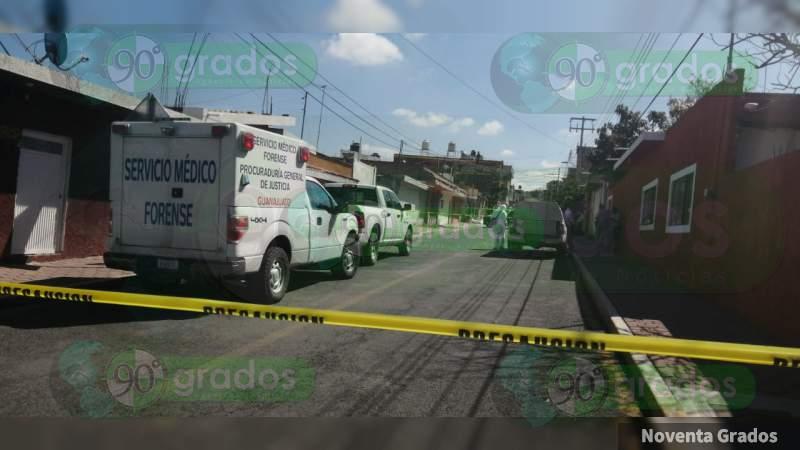 Tras balacera en Apaseo El Alto, Guanajuato, localizan sin vida a una persona