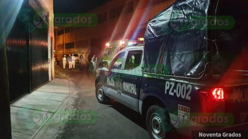 Un joven muerto al derrapar en su moto en Zamora, Michoacán